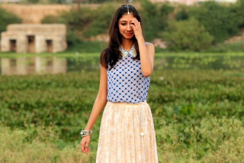 Label Ritu kumar, spring summer collection