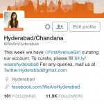 Curating the WeAreHyderabad account on Twitter this entire week Followhellip