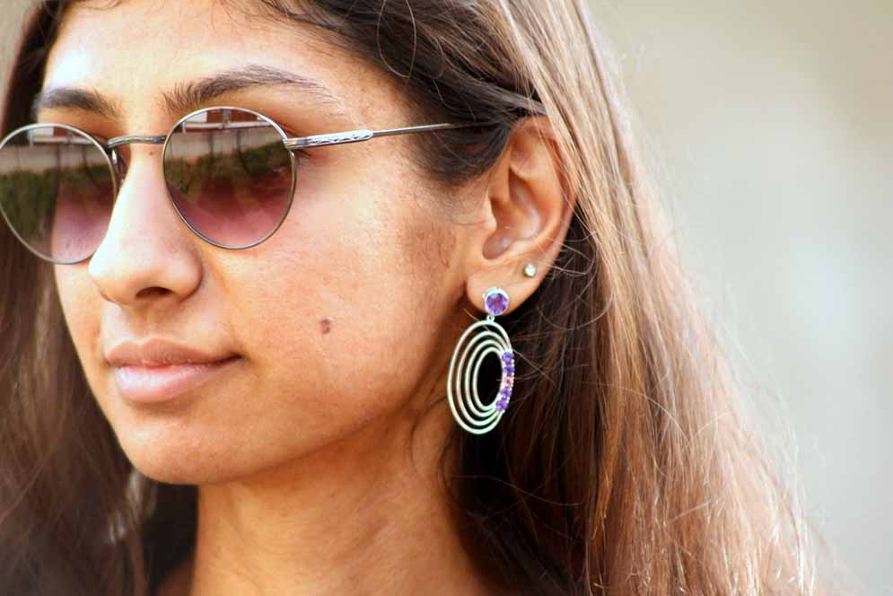 incocu planetary earrings, incocu jewelry, best indian fashion blog, top indian fashion blog