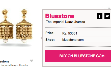 what to wear for navratri, bluestone jhumkas, stylebuys, top indian fashion blogger