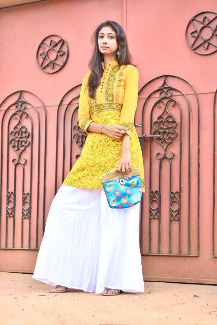 indian fashion blog diwali, top indian fashion blog diwali, best indian fashion blog diwali, hyderabad fashion blogger, chandana munipalle, diwali style, what to wear for diwali, yellow kurtis for diwali, clutch for diwali