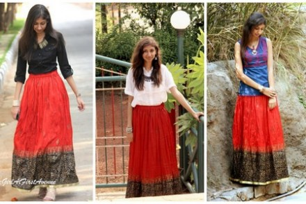 remix red maxi skirt, how to wear a maxi skirt, top indian fashion blog, beest indian fashion blog