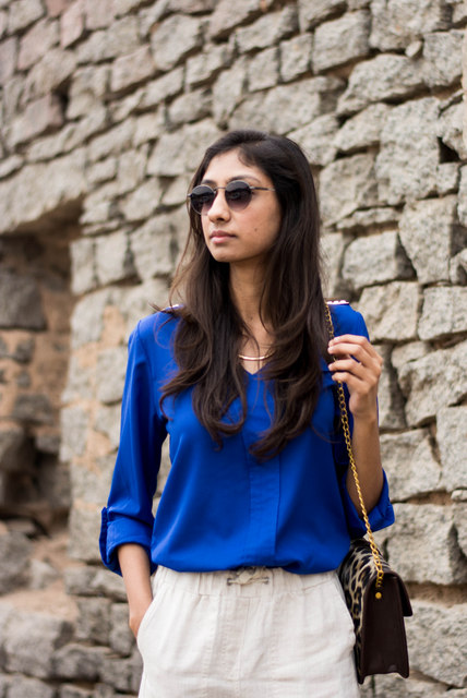 Linen Culottes Online India Indian Fashion Blogger How To Wear