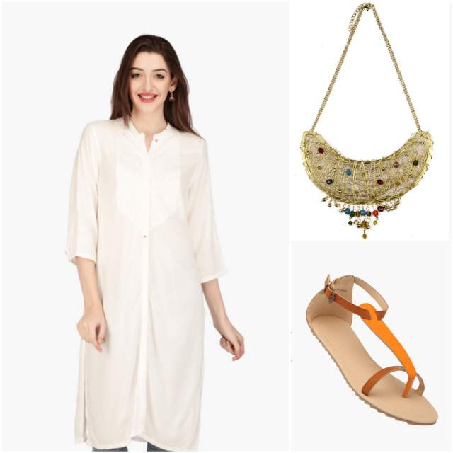 shopperstop online store, shop kurtis online india, buy kurtis online india, W kurtis online india, buy W white kurti, white kurti shopperstop, shoppers stop indian fashion blog