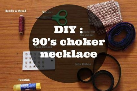 DIY choker