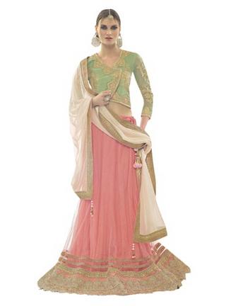 pastel lehenga craftsvilla, lehengas online india, bridal lehengas 2017 online india, best pastel lehenga online india